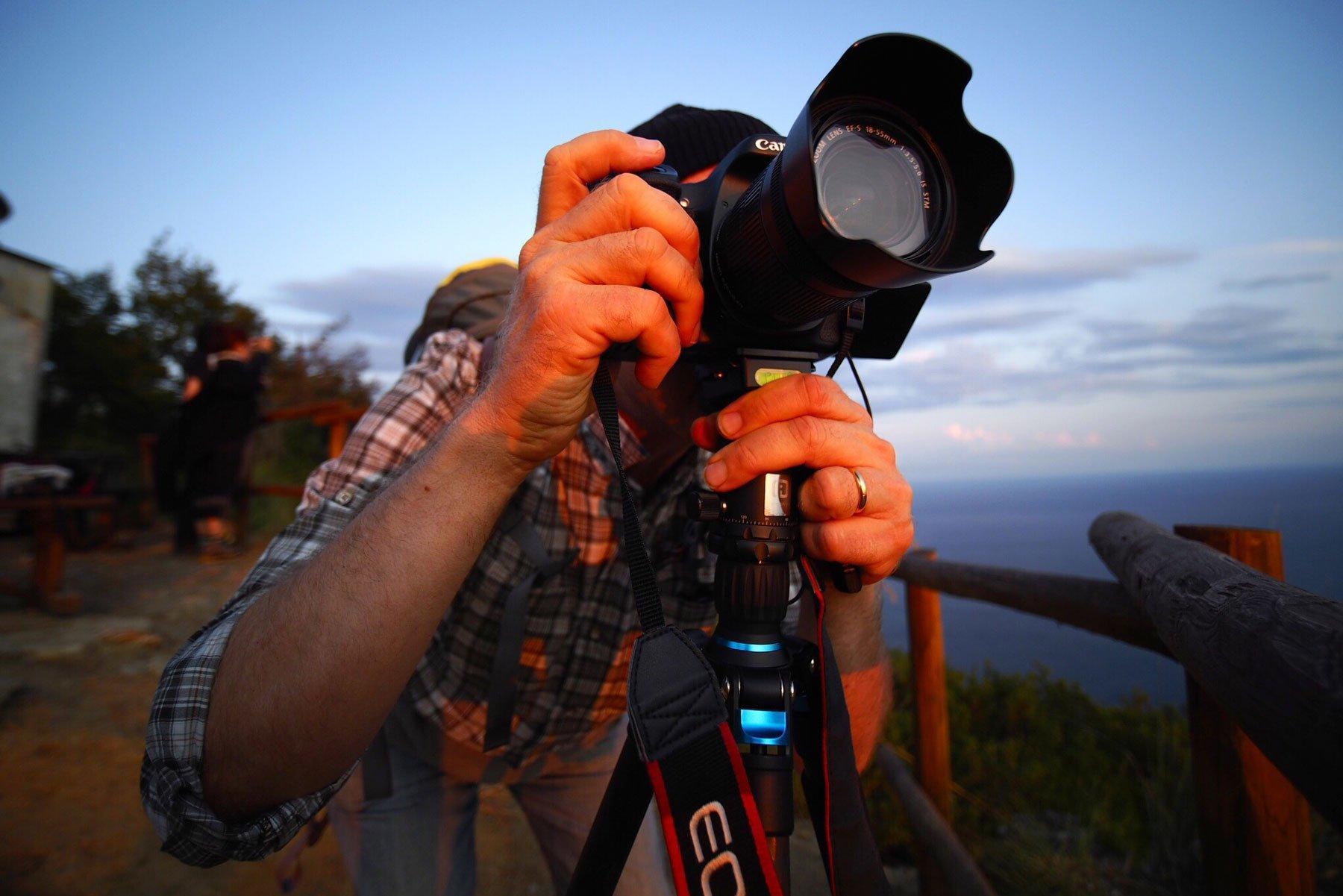 Trekking fotografico – Tramonto alle Batterie di Portofino